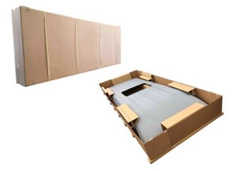Improved HiAce roof large sheet metal part packaging specifications