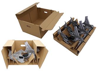 Improved packaging for rear wiper motor